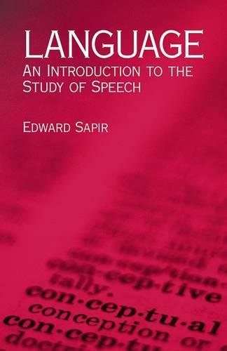 9780486437446: Language: An Introduction To The Study Of Speech