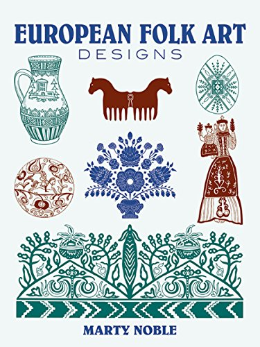 9780486437576: European Folk Art Designs (Dover Pictorial Archive)