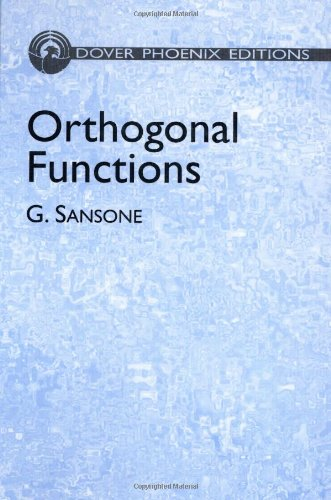 9780486438016: Orthogonal Functions (Dover Books on Mathematics)