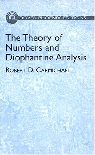 9780486438030: The Theory of Numbers and Diophantine Analysis (Dover Phoenix Editions)
