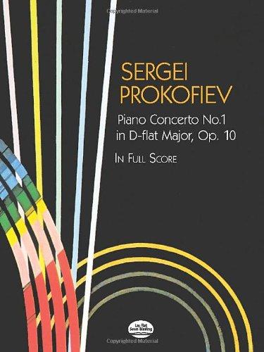 9780486438115: Piano Concerto No. 1 in D-flat Major, Op. 10, in Full Score