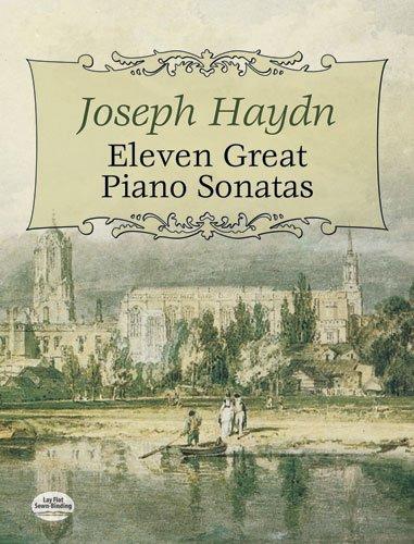 Eleven great piano sonatas.: Haydn,Joseph.