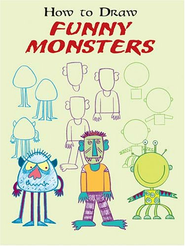 9780486438382: How to Draw Funny Monsters (How to Draw (Dover))