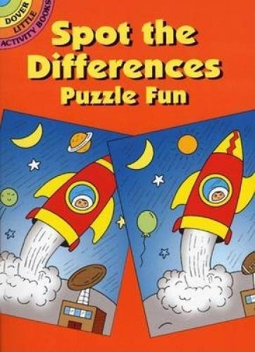 9780486438412: Spot the Differences Puzzle Fun (Dover Little Activity Books)
