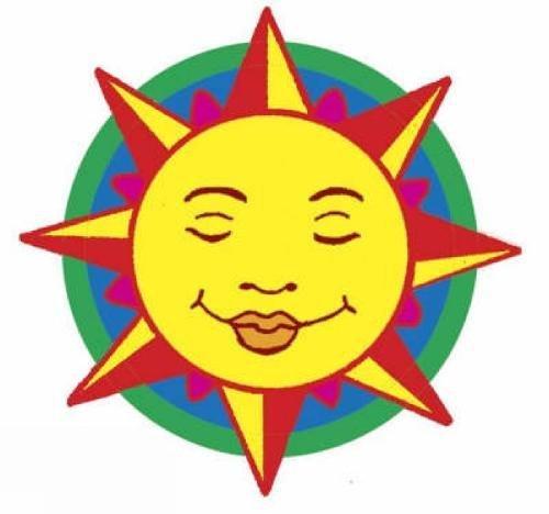SHINY SUN, MOON, STARS STICKERS (18 full-color: Pomaska, Anna