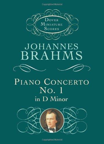 9780486439105: Piano Concerto No. 1 in D Minor (Dover Miniature Scores)