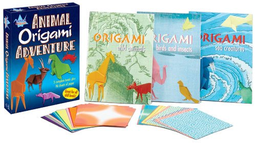 9780486439235: Animal Origami Adventure: An Origami Safari IN A Box!
