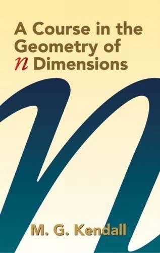 9780486439273: A Course in the Geometry of n Dimensions (Dover Books on Mathematics)
