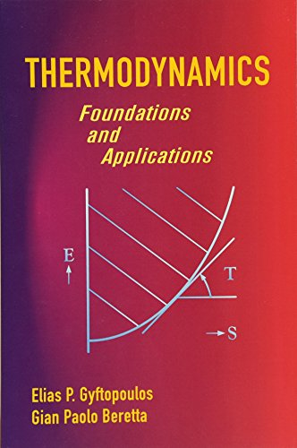 9780486439327: Thermodynamics: Foundations and Applications (Dover Civil and Mechanical Engineering)