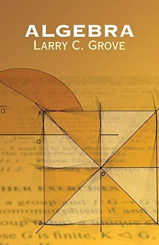 9780486439471: Algebra (Dover Books on Mathematics)