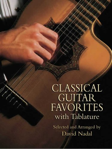 9780486439600: Classical Guitar Favorites with Tablature (Dover Chamber Music Scores)