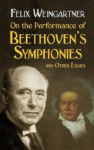 9780486439662: On the Performance of Beethoven's Symphonies and Other Essays (Dover Books on Music)