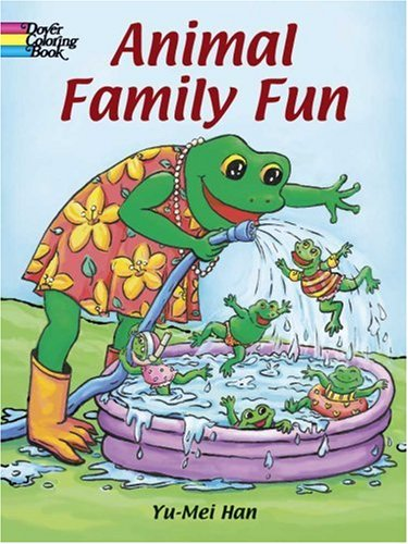9780486439808: Animal Family Fun Coloring Book (Dover Pictorial Archives)