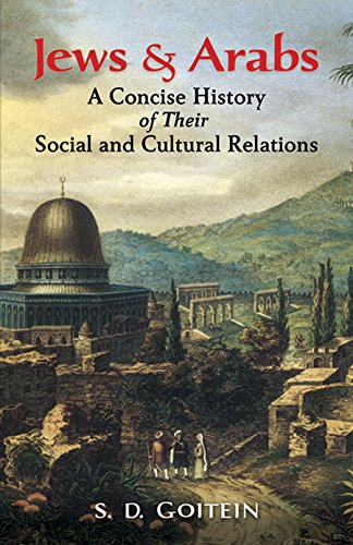 9780486439877: Jews and Arabs: A Concise History of Their Social and Cultural Relations (Jewish, Judaism)