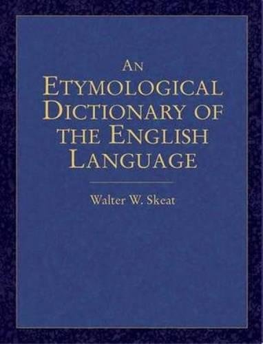 9780486440521: An Etymological Dictionary of the English Language (Dover Language Guides)