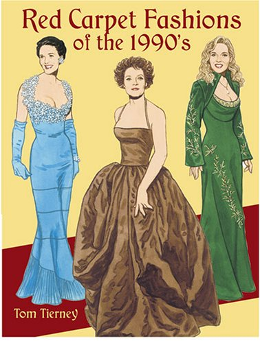 9780486440606: Red Carpet Fashions of the 1990s (Dover Paper Dolls)