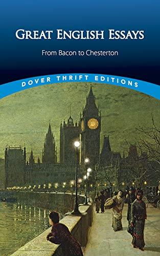 Great English Essays: From Bacon To Chesterton: Blaisdell, Bob