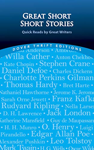 9780486440989: Great Short Short Stories: Quick Reads by Great Writers (Dover Thrift Editions)