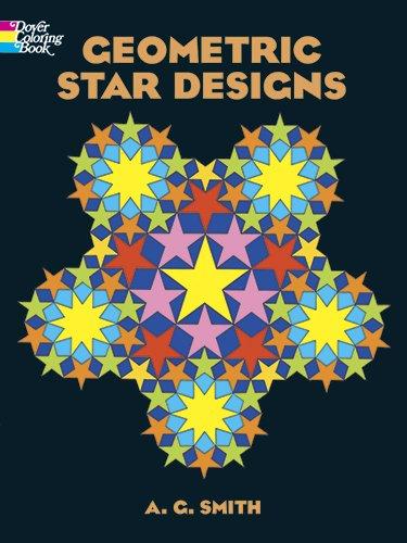 9780486441023: Geometric Star Designs Coloring Book (Dover Design Coloring Books)