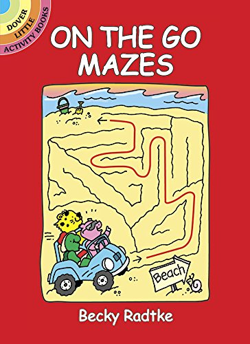 9780486441030: On the Go Mazes (Dover Little Activity Books)