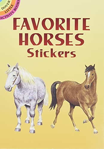 9780486441047: Favorite Horses Stickers (Dover Little Activity Books Stickers)