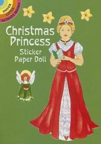 Christmas Princess Sticker Paper Doll (Mixed media: Barbara Steadman