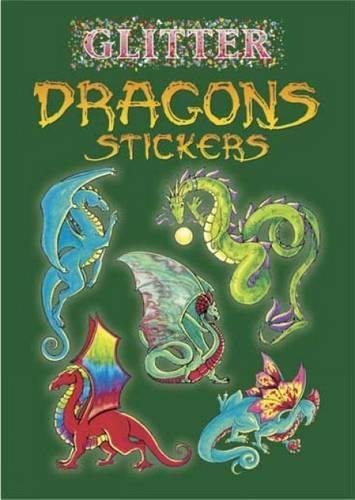 9780486441078: Glitter Dragons Stickers