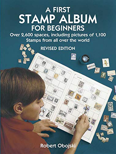 9780486441139: A First Stamp Album for Beginners: Revised Edition (Dover Children's Activity Books)