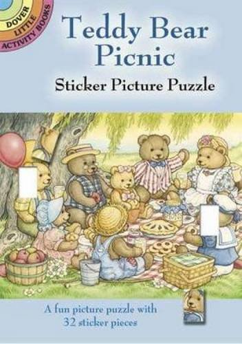9780486441191: Teddy Bear Picnic Sticker Picture Puzzle (Dover Little Activity Books)