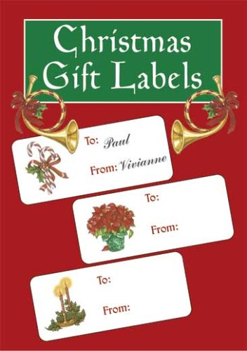 9780486441283: Christmas Gift Labels