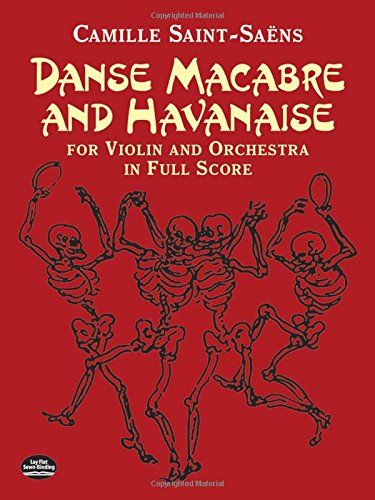 9780486441474: Danse Macabre and Havanaise for Violin and Orchestra in Full Score (Dover Music Scores)