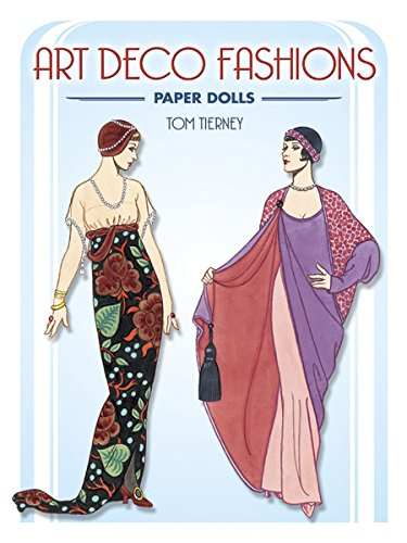9780486441580: Art Deco Fashions Paper Dolls