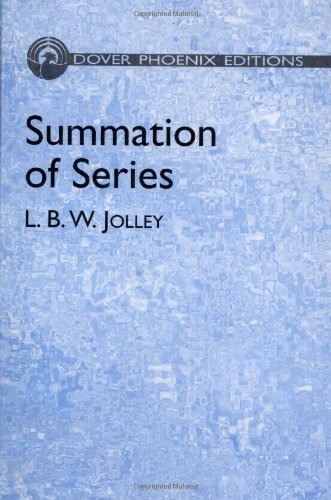 9780486441603: Summation of Series (Dover Phoenix Editions)