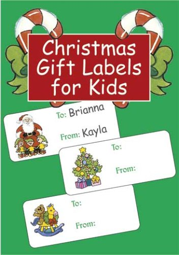 9780486441894: Christmas Gift Labels for Kids (Dover Stickers)