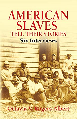 9780486441900: American Slaves Tell Their Stories: Six Interviews (African American)