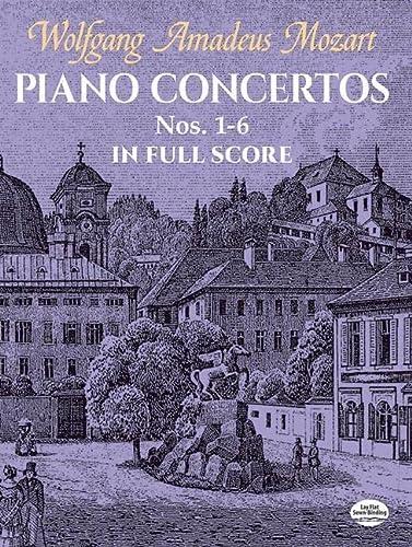 9780486441917: Piano Concertos Nos. 1-6 In Full Score