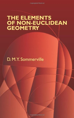 9780486442228: The Elements of Non-Euclidean Geometry (Dover Books on Mathematics)