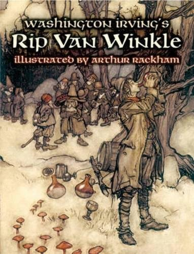 9780486442426: Washington Irving's Rip Van Winkle (Dover Fine Art, History of Art)