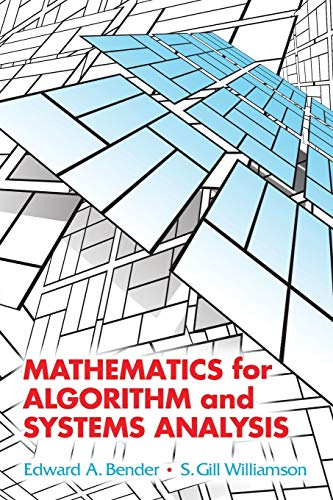 9780486442501: Mathematics for Algorithm and Systems Analysis (Dover Books on Mathematics)