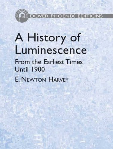 9780486442587: A History of Luminescence: From the Earliest Times Until 1900 (Dover Phoenix Editions)