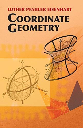 9780486442617: Coordinate Geometry (Dover Books on Mathematics)