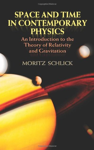 9780486442839: Space and Time in Contemporary Physics: An Introduction to the Theory of Relativity and Gravitation