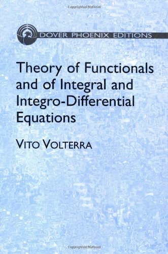 9780486442846: Theory of Functionals and of Integral and Integro-Differential Equations (Dover Books on Mathematics)