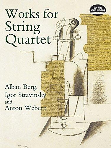 Works for String Quartet (Sheet music): Alban Berg, Anton