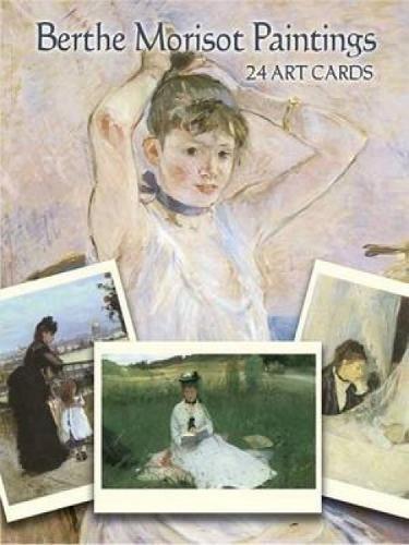 9780486443126: Berthe Morisot Paintings: 24 Art Cards (Dover Postcards)