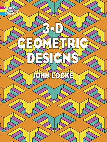 9780486443140: 3-D Geometric Designs (Dover Design Coloring Books)
