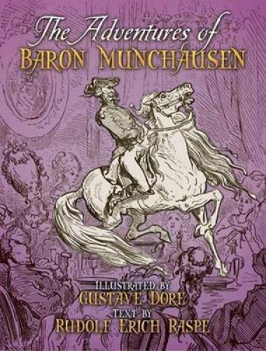 9780486443836: The Adventures of Baron Munchausen (Dover Fine Art, History of Art)
