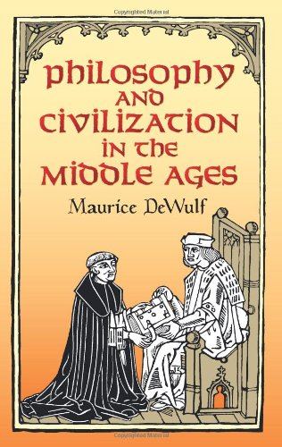 9780486443898: Philosophy and Civilization in the Middle Ages