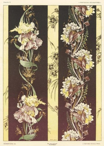 9780486444161: Art Nouveau Design Fantasies in Full Color (Dover Pictorial Archive)