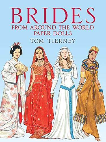9780486444390: Brides from Around the World Paper Dolls (Dover Paper Dolls)